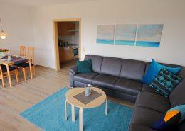 Wohnzimmer im Appartementhaus