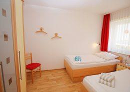 Schlafzimmer der FeWo 7